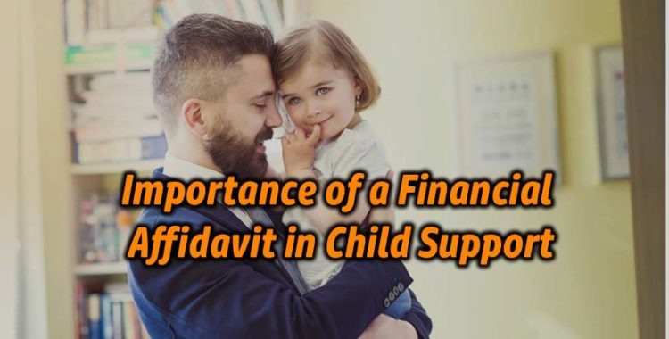 Importance of a Financial Affidavit in Child Support
