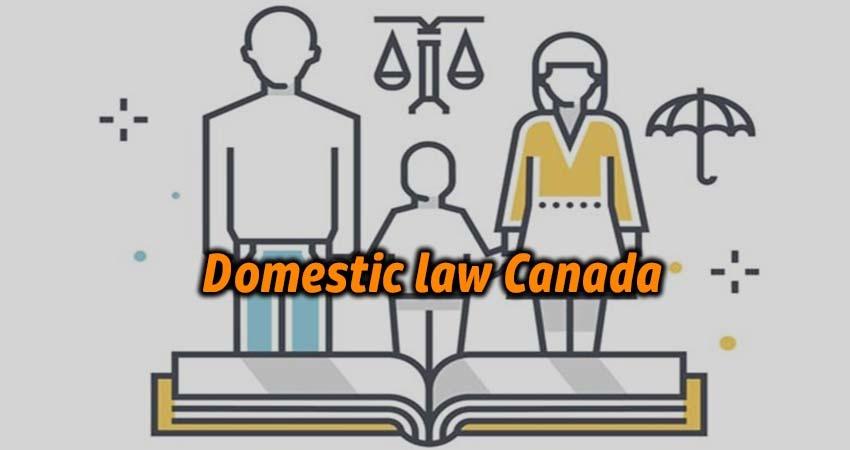 Domestic law Canada